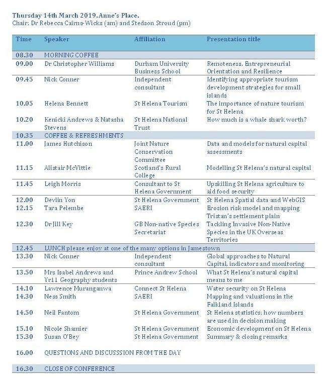 Conference Programme Thursday