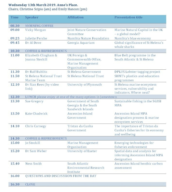 Conference Programme Weds